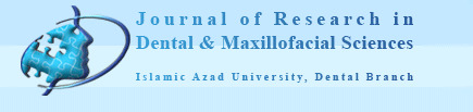 Journal of Research in Dental and Maxillofacial Sciences